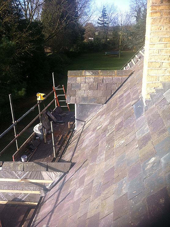 Welland Roofing Blue Slate Roof Tiling Gallery