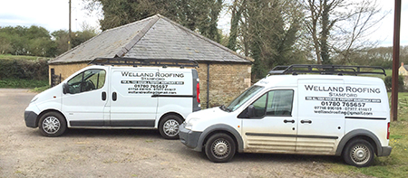 Contact Welland Roofing Stamford